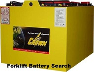 crown industrial battery truck search