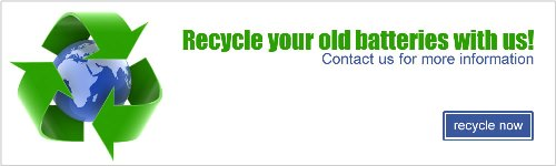 recycle your industrial batteries with us